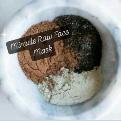 Raw Cacao, Bentonite Clay & Charcoal SUPER-Antioxidant Face Mask